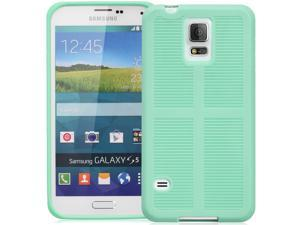 GreatShield FLEXI TPU Durable Design Case for Samsung Galaxy S5 -Teal