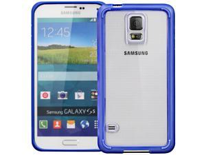 GreatShield RETAIN Hybrid PC+TPU Case for Samsung Galaxy S5 - Blue