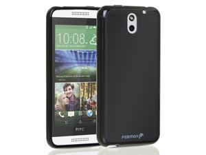 Fosmon DURA-FRO Flexible TPU Case for HTC Desire 610 -Black