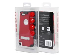"""Seidio iPhone 6 (4.7"""") CAPSA TouchView with MetalKickstand Combo - Red"""