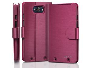 Vena vSuit Draw Bench PU Leather Wallet Flip Stand Case