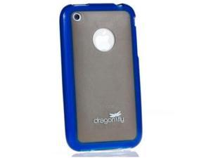 DragonFly Rezza Hard Shell Case for Apple iPhone 3G / 3GS (Blue)