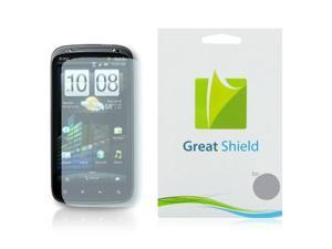 GreatShield Ultra Anti-Glare (Matte) Clear Screen Protector Film for HTC Sensation 4G / HTC Pyramid (3 Pack)