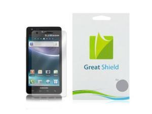 GreatShield Ultra Anti-Glare (Matte) Clear Screen Protector Film for Samsung i997 Infuse 4G (3 Pack)