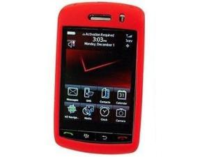 Cellet SCBLK9500RD Jelly Case Silicone Case for BlackBerry Storm 9530 - Red