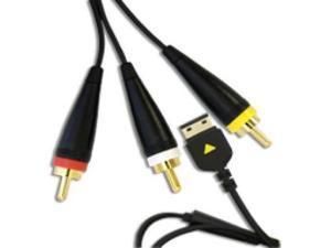 Samsung RCA TV Out Cable AATCS10CBE fits Samsung Omnia i900, Omnia i910, Memoir T929 and Flipshot U900
