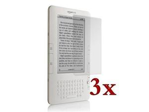 3 X Durable Screen Protector LCD Guard For Amazon Kindle 2