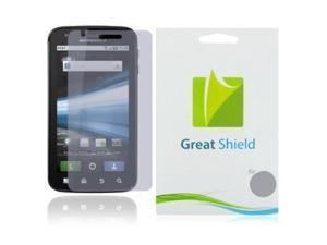 GreatShield Ultra Anti-Glare (Matte) Clear Screen Protector Film for Motorola Atrix 4G (3 Pack)