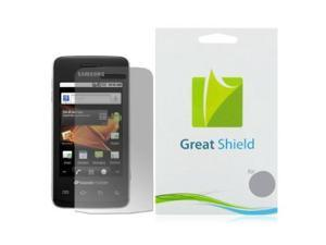 GreatShield Ultra Anti-Glare (Matte) Clear Screen Protector Film for Samsung Galaxy Prevail M820 (3 Pack)
