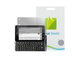 GreatShield Ultra Anti-Glare (Matte) Clear Screen Protector Film for Motorola Droid 3 XT862 (3 Pack)