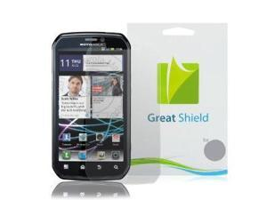 GreatShield Ultra Anti-Glare (Matte) Clear Screen Protector Film for Sprint Motorola Photon 4G MB855 (3 Pack)