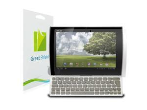 GreatShield Ultra Smooth Clear Screen Protector Film for Asus EEE Pad Slider SL101 (3 Pack)