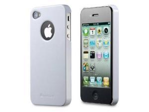 GreatShield Guardian Series Slim-Fit PolyCarbonate Hard Case for Sprint / Verizon / AT&T Apple iPhone 4 / iPhone 4S - Glossy White