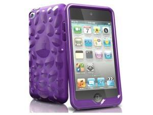 iSkin Pebble Case for iPod Touch 4G (Twilight Purple)