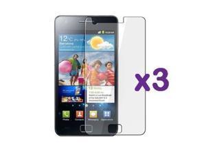 Fosmon Premium Crystal Clear Screen Protector Shield for Samsung Galaxy S II GT-i9100 (International Unlocked Version) - ...