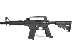 Tippmann US Army Alpha Black Tactical Semi Paintball Gun - Black