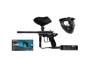 Kingman Spyder Sonix Paintball Gun Pro Players Kit - Black