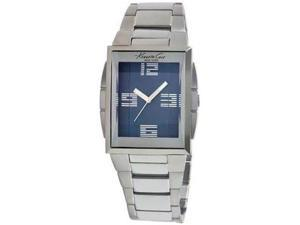 Kenneth Cole KC3944 Stainless Steel Blue Dial Analog Quartz