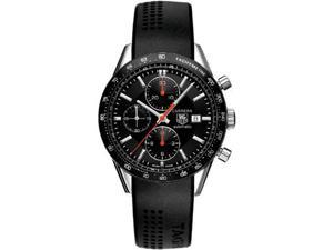 Tag Heuer CV2014FT6014 Black Dial Carrera Chronograph