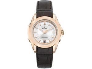 Bulova Precisionist Longwood Women's Quartz Watch 97M104