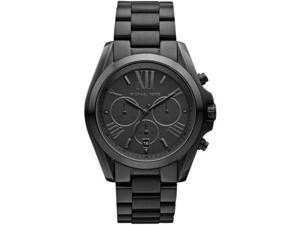 Michael Kors Bradshaw Chrono Black Dial Black Ion-plated Unisex Watch MK5550