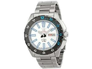 Seiko 5 Sports Automatic White Dial Stainless Steel Mens Watch SRP359