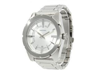 Diesel Mens DZ5346 Stainless Steel Case and Bracelet Silver Tone Dial Watch