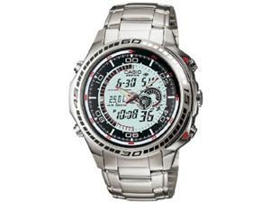 Casio EFA121D-7A Stainless Steel Case and Bracelet Edifice Chronograph Silver Digital-Analog Dial