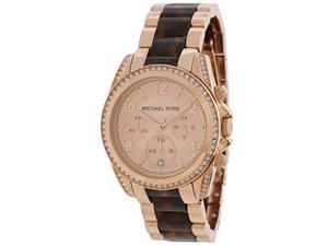 Michael Kors Blair Rose Dial Rose Gold-tone Ladies Watch MK5859
