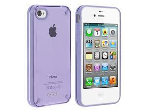 Aprolink IPF-406-03 Fusion iPhone 4 / 4S Dual Shell Case -  Purple