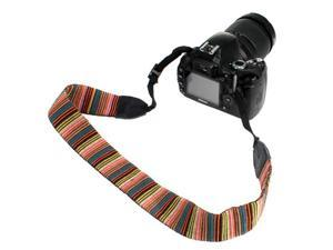 GTMax Soft Multi-Color Classic Camera shoulder/Neck Strap Belt for Canon /Sony /Fuji /Olympus /Panasonic /Pentax SLR Cameras