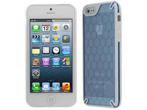 OZONE Bee Hive Case for Apple® iPhone® 5 - Blue (HT-IP5-03-BL)
