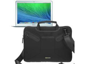 Evecase Multi-functional Neoprene Messenger Case Tote Bag for Apple MacBook Air 13-inch (2014) MD761LL/B / MD760LL /B 13.3-Inch Laptop (NEWEST VERSION)