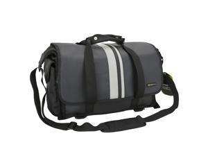 Evecase X-Large Pro DSLR SLR Camera/Lens Messenger Bag Case with Shoulder Strap - Black (Water Resistant Material)