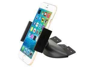 CD Mount - iKross Universal In-Car CD Slot Mount Cradle Holder For Smartphone with 360 Rotation - Black
