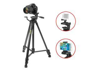 iKross 61-inch Professional Portable Tripod with Adapters and Carrying Bag for Digital DSLR Camera, Camcorder, Gopro HERO, iPhone, Smartphone and more