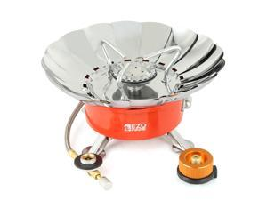 EZOWare LightWeight Outdoor Backpacking Camping Stove Burner Cookware with Wind Reflector
