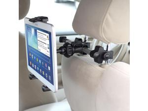 "iKross Extension 360 Degrees Rotation Car Mount Tablet Backseat Headrest Mount Holder for E-Fun Nextbook 10.1""/8"" Windows 8.1, Nextbook 7/8, Nextbook Premium 8HD/7SE/7HD"