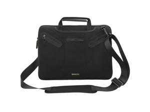Evecase Toshiba Satellite C55 series Ultrabook/Laptop Extra padded Neoprene Case with Handle and Carrying Strap for Toshiba Satellite C55-B5287 15.6-Inch Laptop – Black