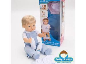 Boy Potty Training Doll by Potty Scotty