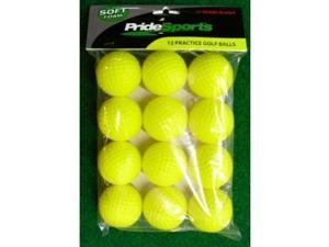 Pride Sports Soft Foam Mid Flight Practice Golf Balls