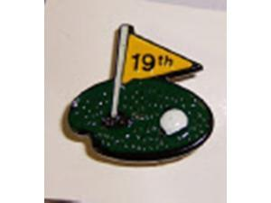 Charter Closeout Golf Lapel Pin 19th Hole