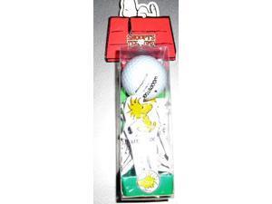 Snoopy Golf Set Ball Divot Marker Tees Woodstock