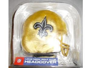 Helmet Longneck Golf Headcover NFL New Orleans Saints