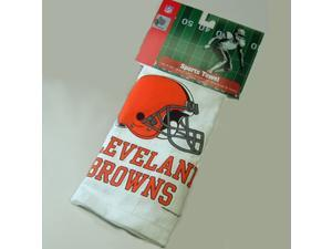 Cleveland Browns NFL Screened Sports Golf Towel NEW!