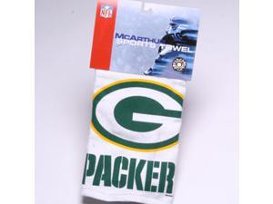Green Bay Packers NFL Screened Sports Golf Towel NEW