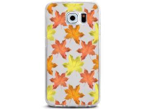 UV Printed TPU Phone Case - Colorful Fall Autumn Maple Leaves