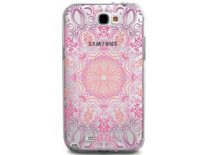 UV Printed TPU Phone Case - Pink Mandala Pattern Henna