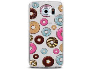 UV Printed TPU Phone Case - Colorful Doughnut Pattern