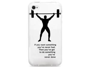 UV Printed TPU Phone Case - Powerlift Motivation